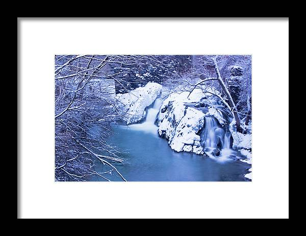 Whetstone Brook Framed Print featuring the photograph Whetstone Brook II by Tom Singleton