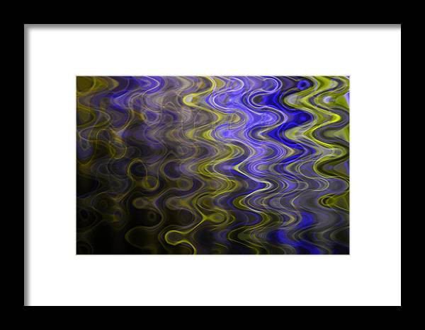 Wave Framed Print featuring the photograph Whirly Whirls 1 by Cyryn Fyrcyd