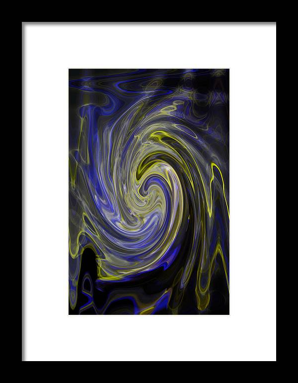 Light Bending Framed Print featuring the photograph Whirly Whirls 8 by Cyryn Fyrcyd