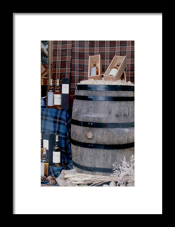 Whisky Framed Print featuring the photograph Whisky by Ted Denyer