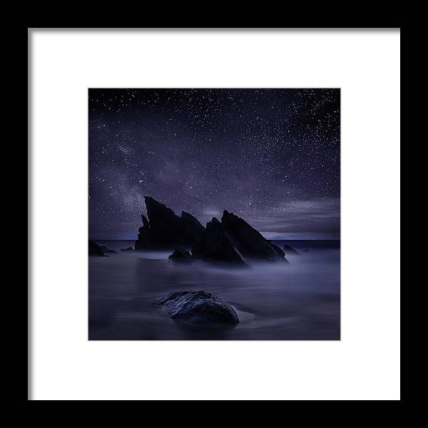 Night Framed Print featuring the photograph Whispers of eternity by Jorge Maia