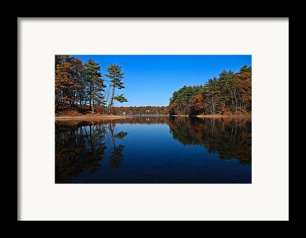 Pond Framed Print featuring the photograph Whites Pond by Corey Sheehan