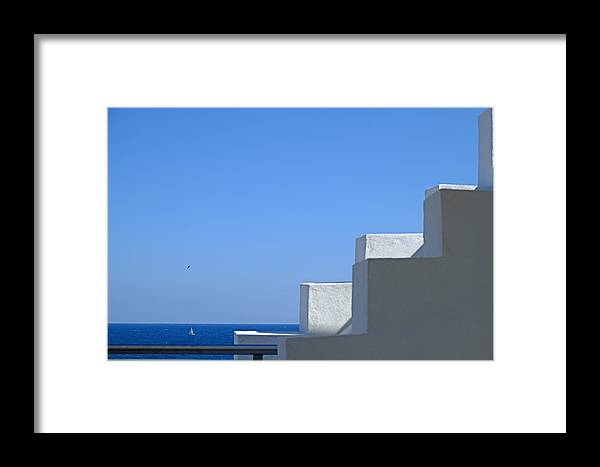 Polignano A Mare Framed Print featuring the photograph Who You Are by Gianmarco Cicuzza