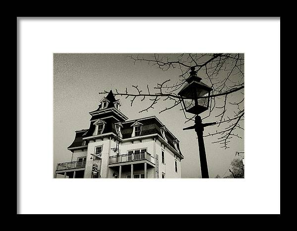 Onset Framed Print featuring the photograph Wickets Inn by David DeCenzo