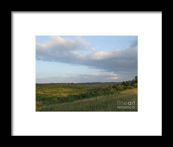 Valley Framed Print featuring the photograph Wide Open Spaces by Scott B Bennett