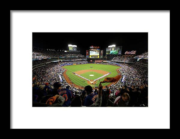 Playoffs Framed Print featuring the photograph Wild Card Game - San Francisco Giants V by Michael Reaves