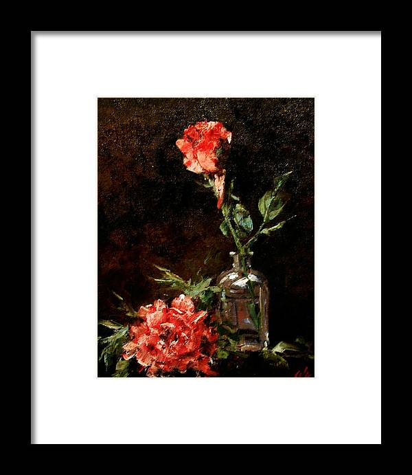 Floral Framed Print featuring the painting Wild Irish by Jim Gola