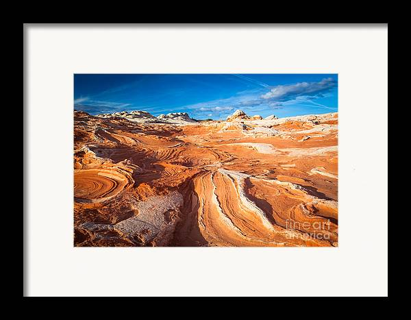 America Framed Print featuring the photograph Wild Sandstone Landscape by Inge Johnsson