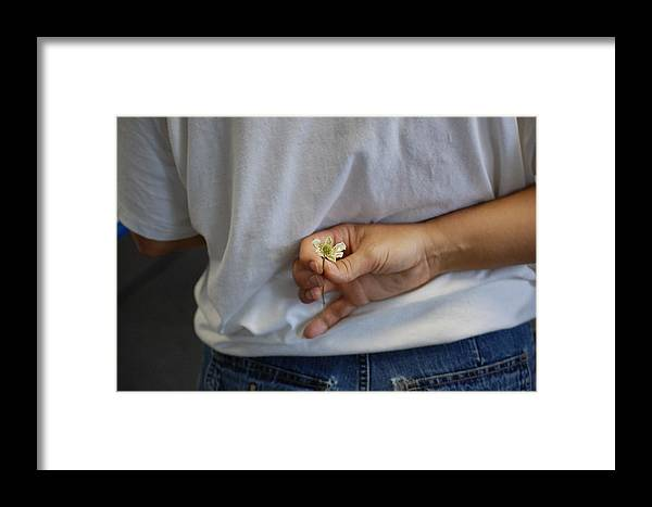 Wildflower Framed Print featuring the photograph Wildflower Surprise by Nicole Berna