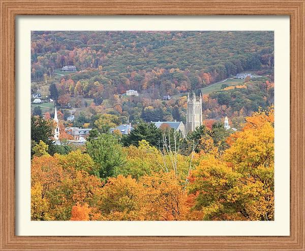 Williamstown Massachusetts Fall Foliage by John Burk