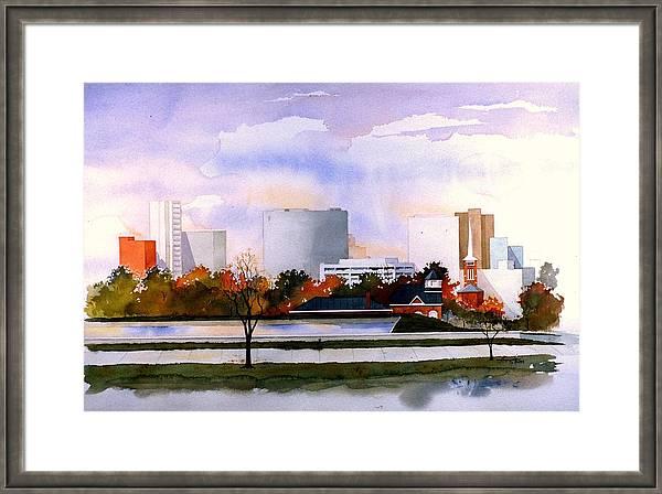 Wilmington Resevoir Skyline by William Renzulli
