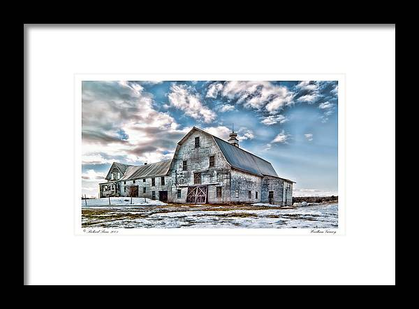 Abandonment Framed Print featuring the photograph Windham Vacancy by Richard Bean