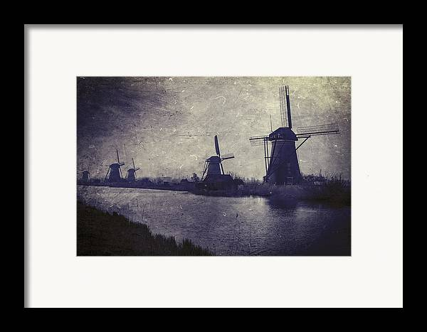 Mill Framed Print featuring the photograph Windmills by Joana Kruse