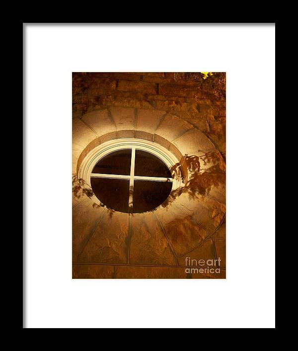 Framed Print featuring the photograph Window Shadows by Rachel Butterfield