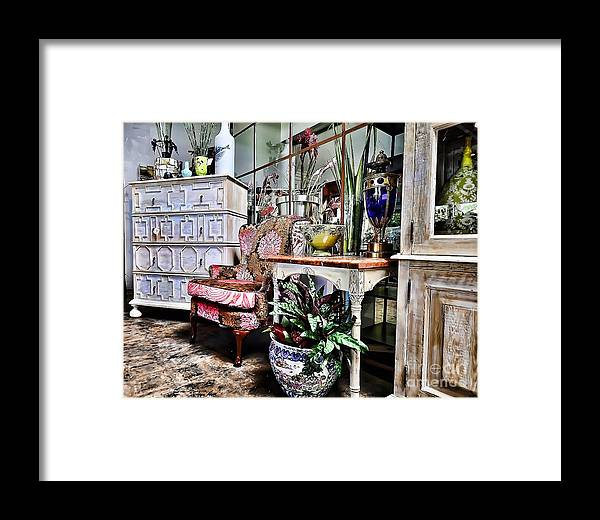 Window Shopping Framed Print featuring the photograph Window Shopping by Liane Wright