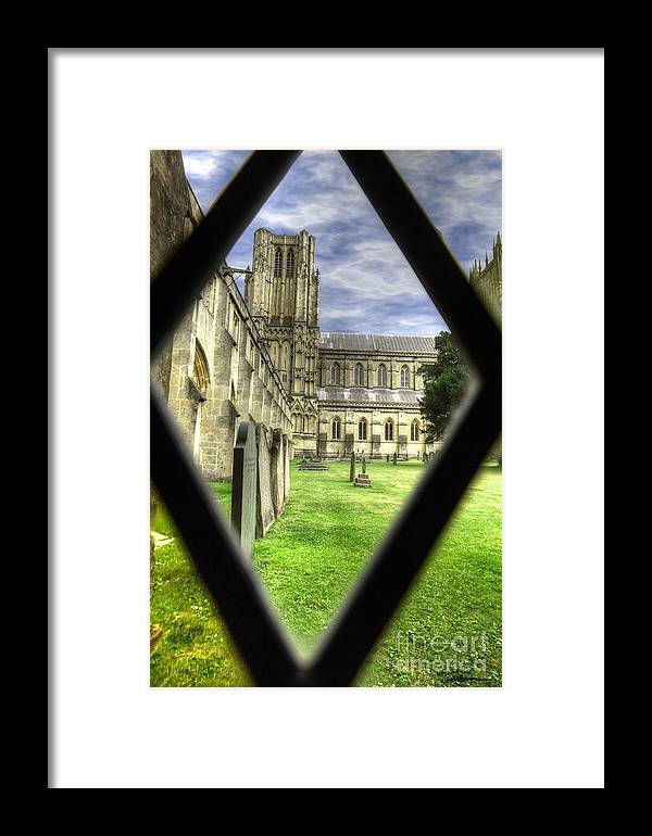 Cathedral Framed Print featuring the photograph Window To The Past by Traci Law