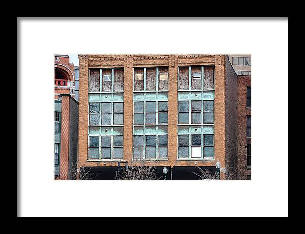 Building Framed Print featuring the photograph Windows by Lisa Kane