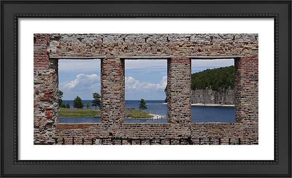 Windows on Snail Shell Harbor by Keith Stokes