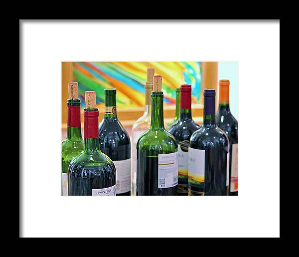 Wine Framed Print featuring the photograph Wine Tasting by Cynthia Guinn