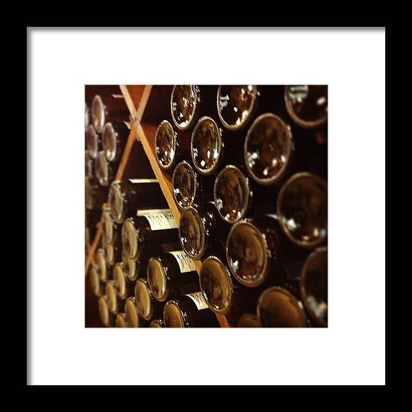Wine Framed Print featuring the photograph Wine Tour by Christy Beckwith