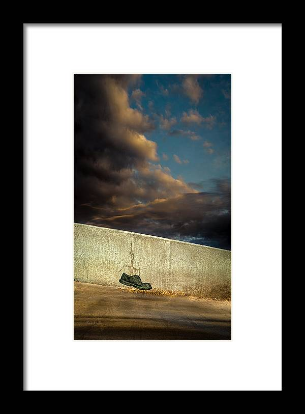 Shoe Framed Print featuring the photograph Wingtips by Bob Orsillo