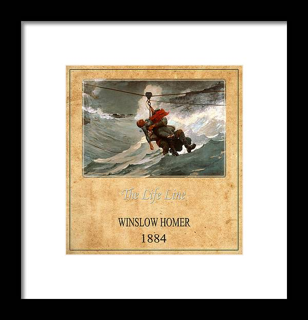 Homer Framed Print featuring the photograph Winslow Homer 3 by Andrew Fare
