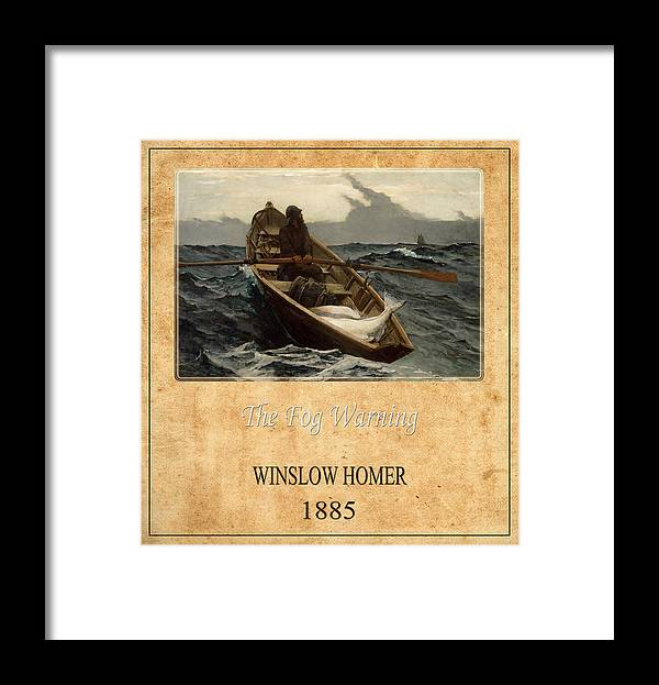 Homer Framed Print featuring the photograph Winslow Homer 4 by Andrew Fare