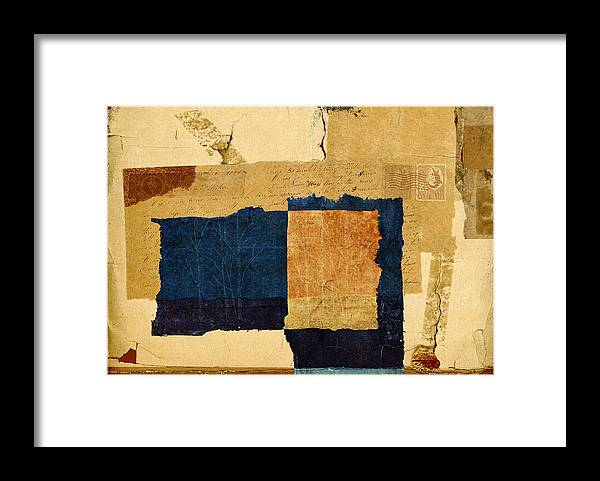 Winter Framed Print featuring the photograph Winter and Fall by Carol Leigh