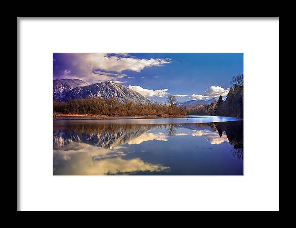 Snoqualmie Framed Print featuring the photograph Winter Beckons by Manju Shekhar