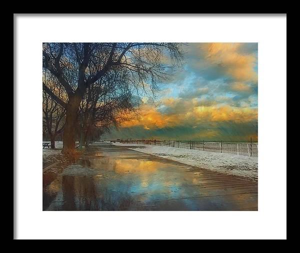 Winter Fenceline by Troy Caperton