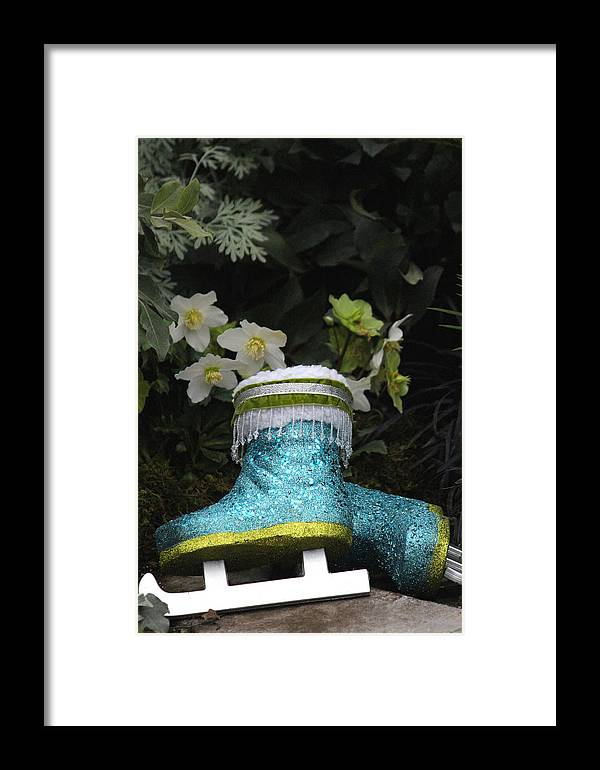 Skates Framed Print featuring the photograph Winter Fun by The Art Of Marilyn Ridoutt-Greene