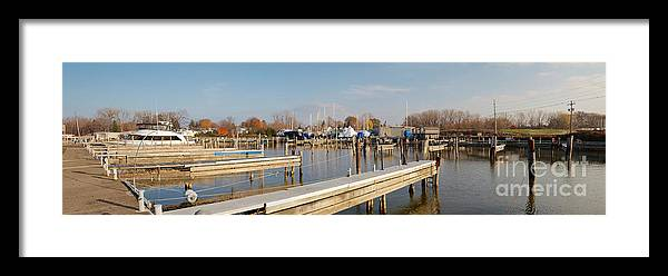 Rochester Yacht Club Framed Print featuring the photograph Winter Is Coming by William Norton