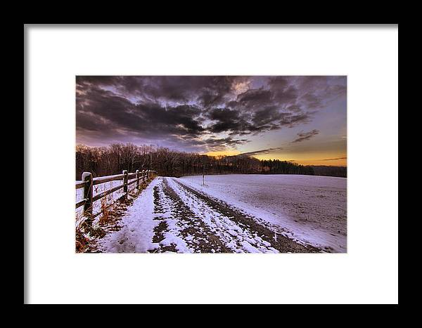 Winter Framed Print featuring the photograph Winter Morning by Brian Arters