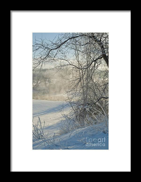 Canada Framed Print featuring the photograph Winter Pastorale IIi by Jessie Parker