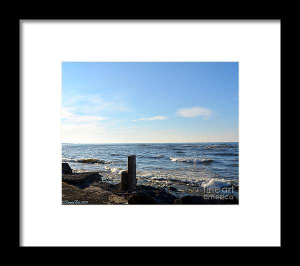 Lake Framed Print featuring the photograph Winter Surprise by Rennae Christman