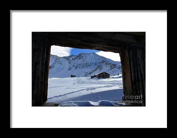 Nature Framed Print featuring the photograph Winter Window by Tonya Hance