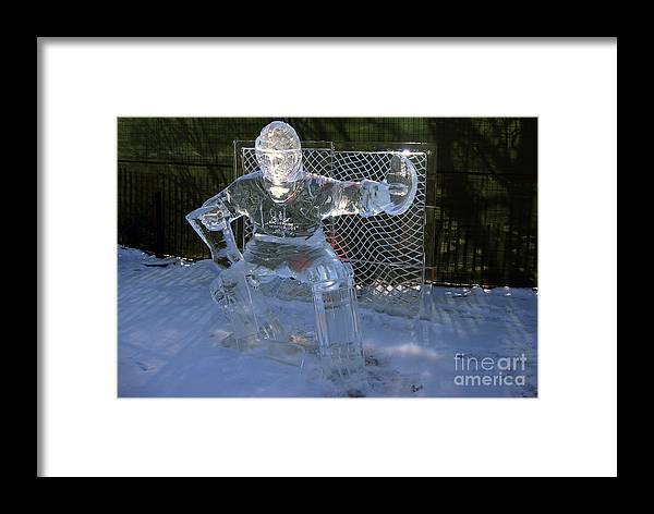 Winterlude Framed Print featuring the photograph Winterlude by Andre Paquin