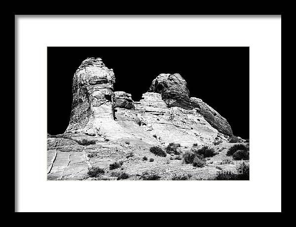 Wise Men Of The Desert Framed Print featuring the photograph Wise Men of the Desert by John Rizzuto