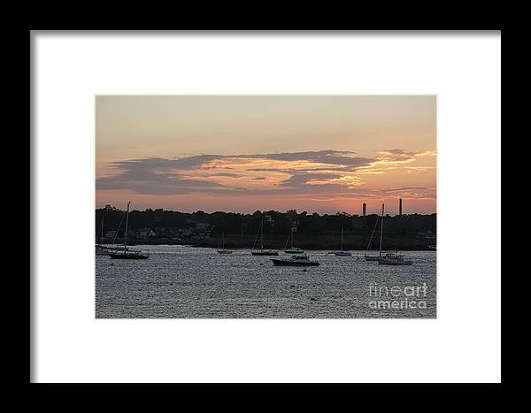 Clouds Framed Print featuring the photograph Wispy Clouds by Ruth H Curtis