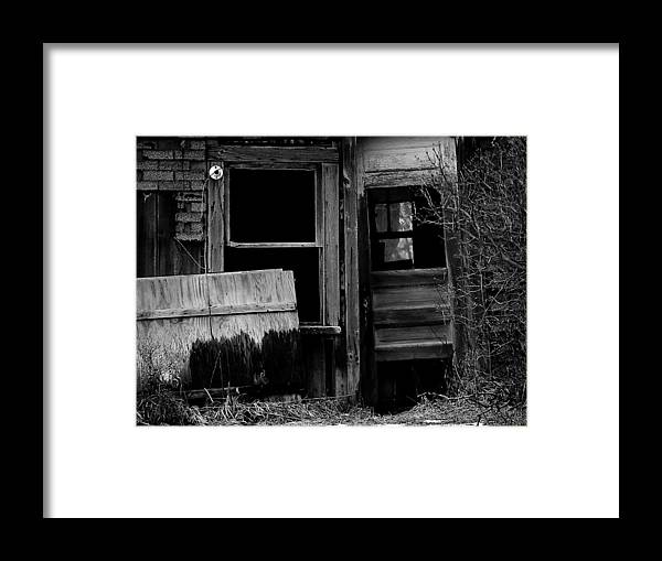 Old Framed Print featuring the photograph Within The Shaddows 2 by Tara Lynn