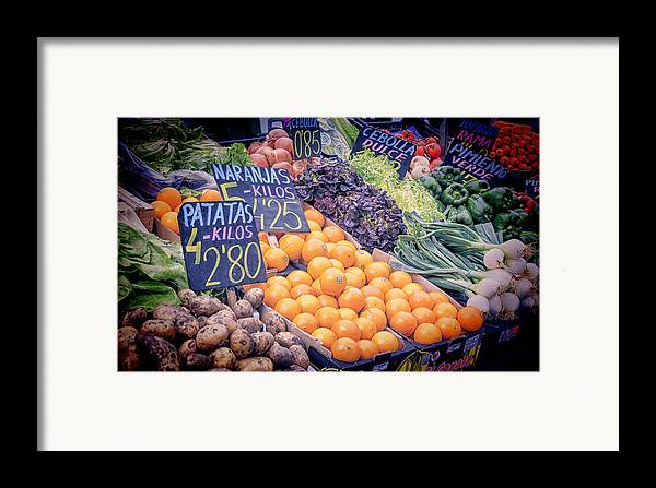 Agricultural Framed Print featuring the photograph Wonderful In Any Language by Joan Carroll