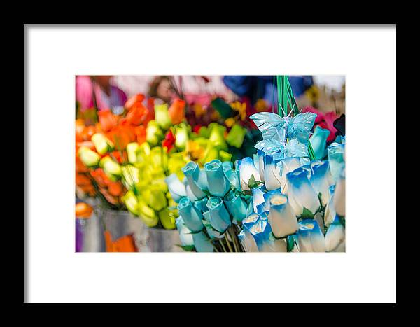 Still Life Framed Print featuring the photograph Wood Flowers by Kevin Jarrett
