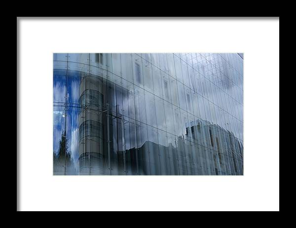 Reflection Framed Print featuring the photograph Work Safe Reflection by Richard Henne