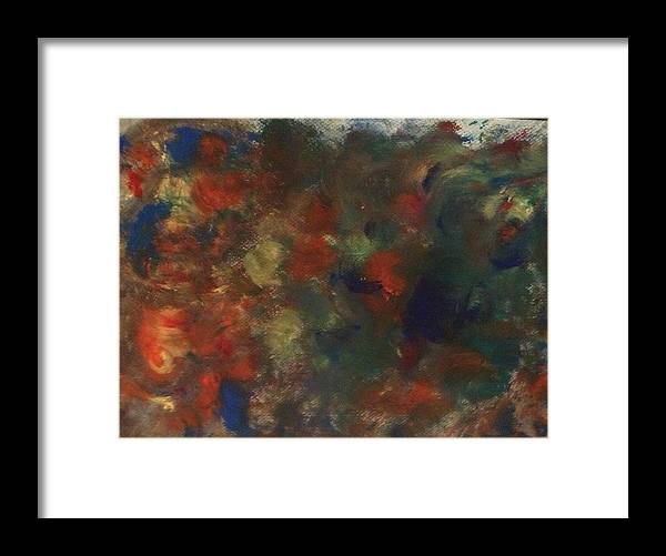 Watercolor Framed Print featuring the painting World Anthem by Tracy Pierce