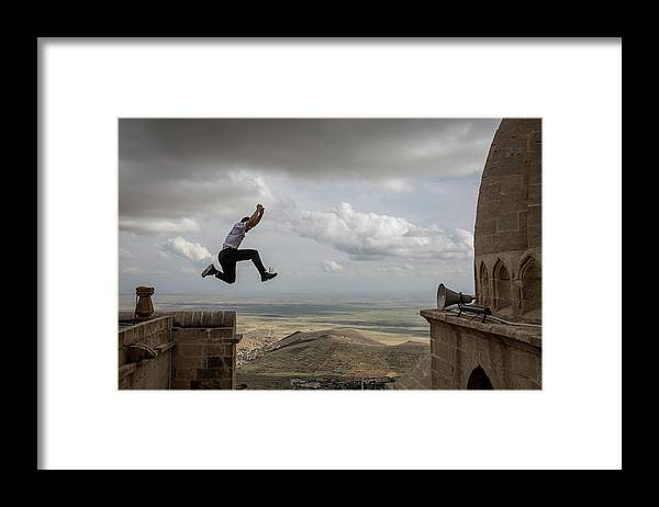 Lifestyles Framed Print featuring the photograph World Parkour Championships by Chris Mcgrath