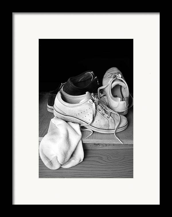 Tennis Framed Print featuring the photograph Worn by Marcia Colelli