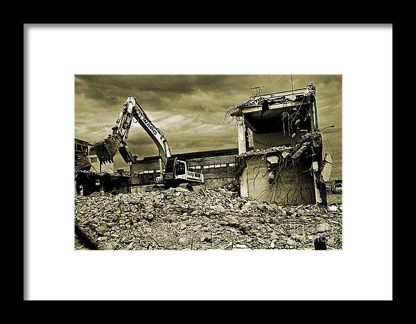 Ruin Framed Print featuring the photograph Wreck And Ruin by Nareeta Martin