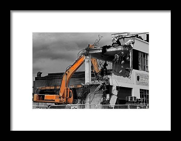 Wrecker Framed Print featuring the photograph Wrecker by Nareeta Martin