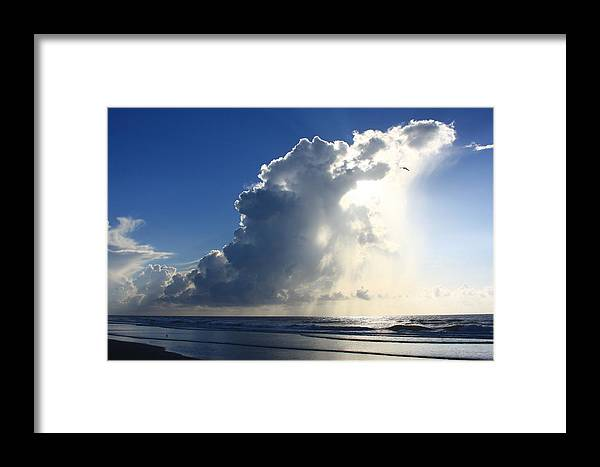 Michael Weeks Framed Print featuring the photograph Wrightsville Beach Skyscape by Mountains to the Sea Photo