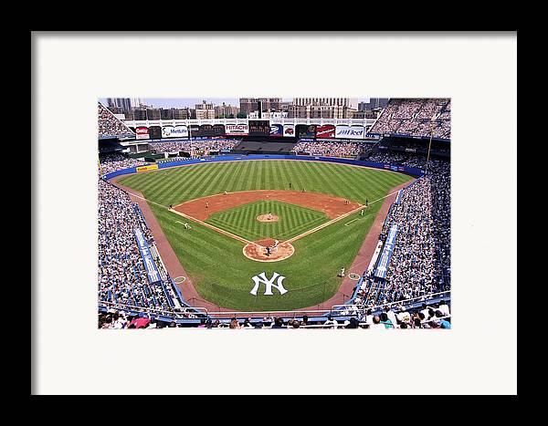 Yankee Stadium Framed Print featuring the photograph Yankee Stadium by Allen Beatty